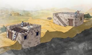Casa arena y casa roca