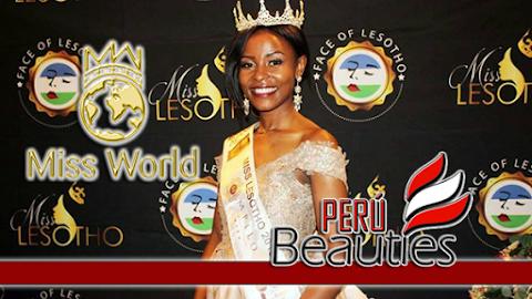 Palesa Makara es Miss World Lesotho 2019