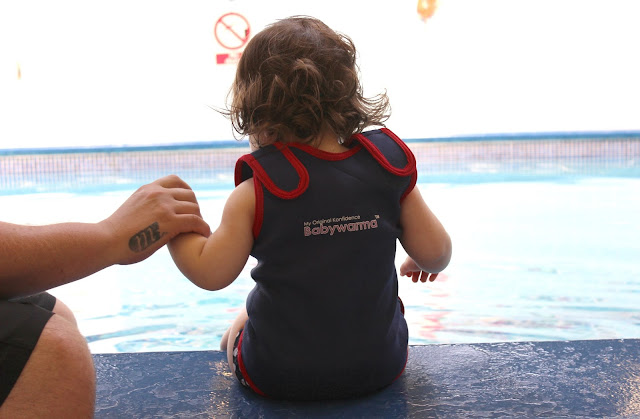 A review of the Konfidence Babywarma Baby Wetsuit
