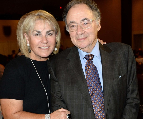 15) Honey and Barry Sherman