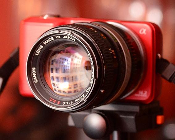 Lens Canon FD 50f1.4 ssc rất đẹp