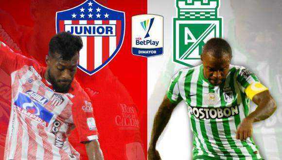 Junior vs Atlético Nacional EN VIVO el clásico de la fecha