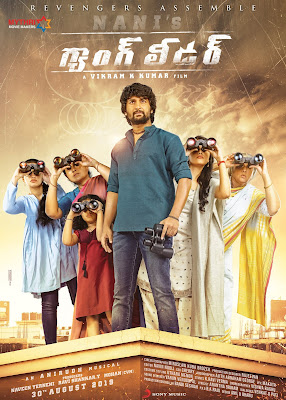 Gang Leader (2019) [Hindi HQ PROPER-Dub] 720p   480p UNCUT HDRip x264 1.1Gb   450Mb