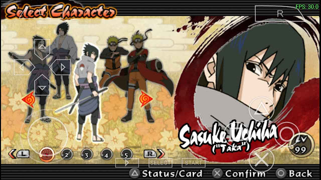 Save Data Naruto Ultimate Ninja Impact ppsspp
