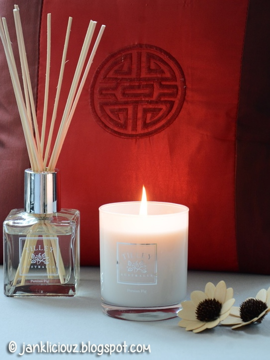 Tilley Persian Fig Diffusers and Scented Soy Candles for a lovely smelling home