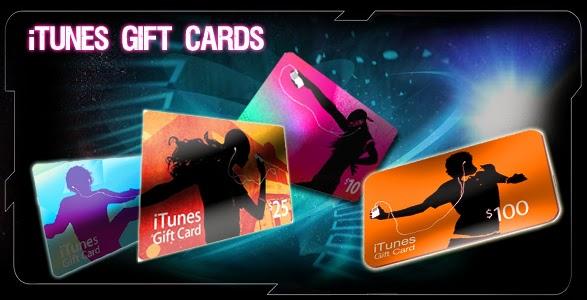 الحصول على بطاقة Itunes Gift Card بقيمة 10 أو 25 دولار