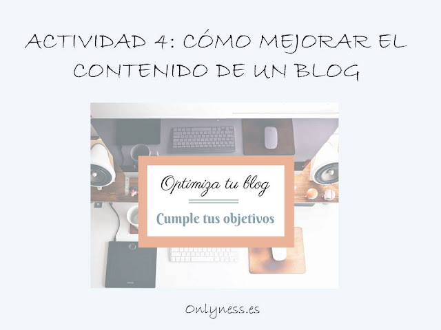 OnlyNess: Optimiza tu blog