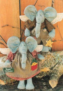 1 - Elefante em feltro