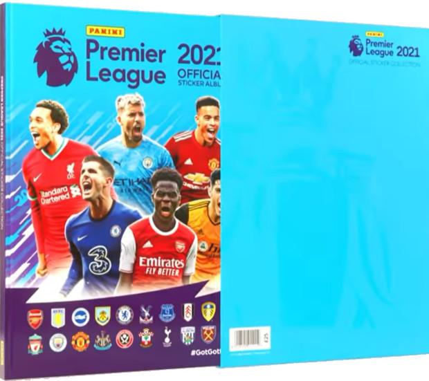 Football Cartophilic Info Exchange Panini Premier League 2021 02 Hardcover Slipcase