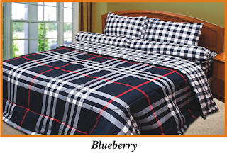 Sprei & BedCover Impression - Blueberry