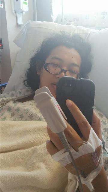 Indah Nuria Savitri, breast cancer warrior and survivor