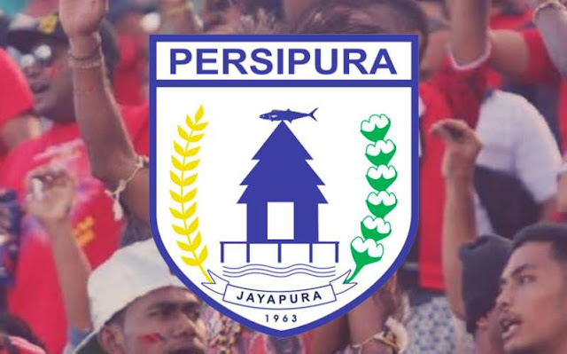 Pendukung Persipura mania dan Logo Persipura Jayapura