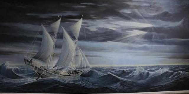 Lukisan Kapal Pinisi