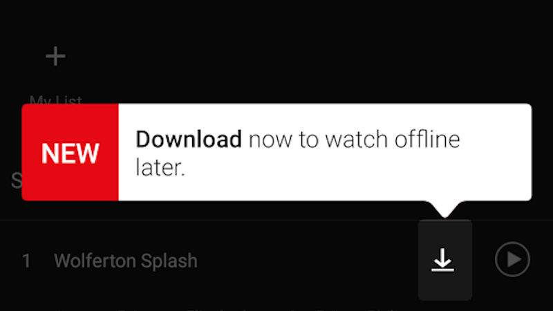 Download Shows On Netflix