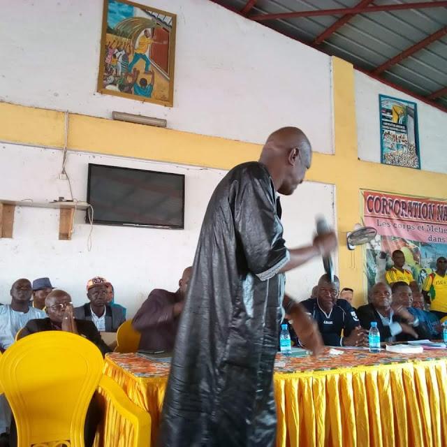 Monsieur Ibrahima Kalil Konaté K au carré