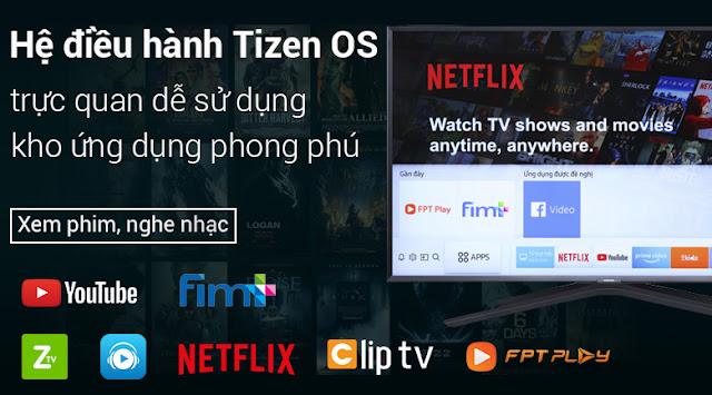 Smart Tivi Cong Samsung 4K 49 inch UA49NU7500KXXV