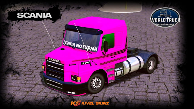 SCANIA T113 - PINK COLLECTION