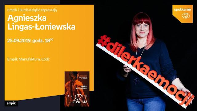 Zapraszam na spotkanie autorskie z Agnieszką Lingas-Łoniewską