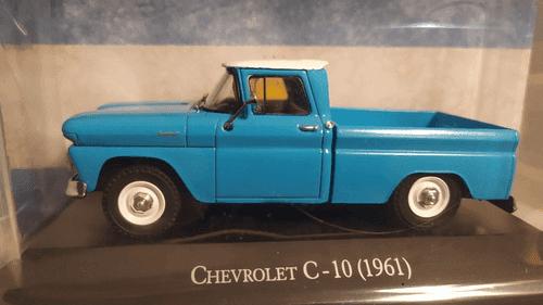 chevrolet c-10 1:43, chevrolet c-10 1961, chevrolet c-10 1961 autos inolvidables argentinos, autos inolvidables argentinos salvat