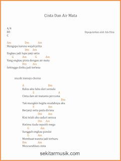 chord cinta dan air mata lagu dangdut ida eliza