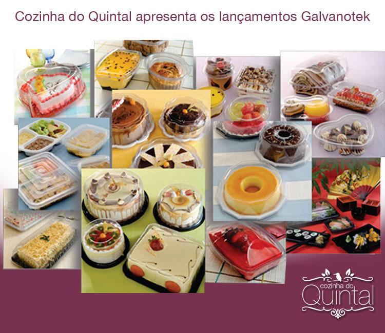 Na Cozinha do Quintal você confere os lançamentos da Galvanotek