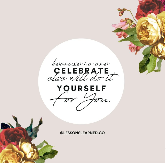 Celebrate your wins Lessons Learned podcast