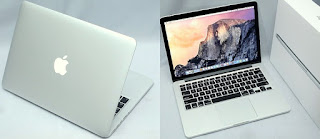 Macbook pro 13 Retina Late 2012 Bekas