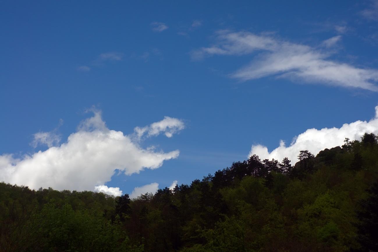 Zum Tagesabschluss - Blauer Himmel nach Schauer