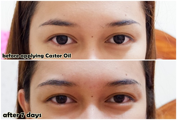Castor Oil Eyebrows Before And After   The Seven Miles