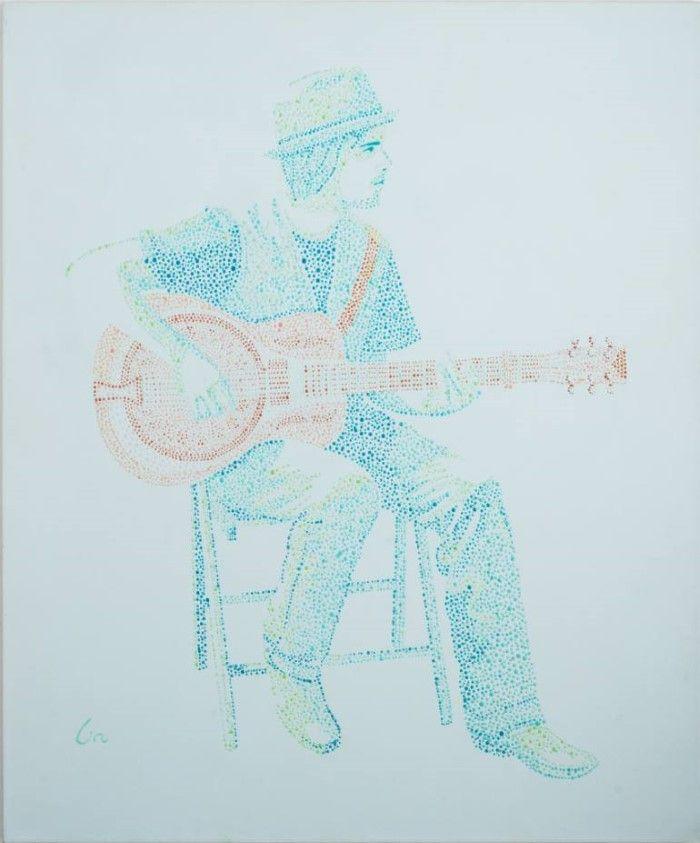 Израильский художник. Lia Kaufman