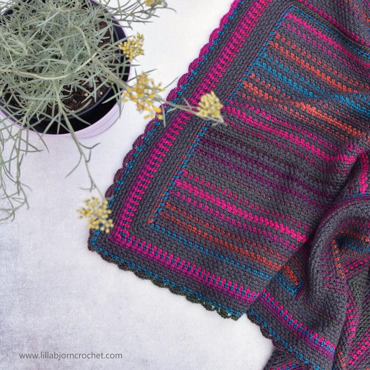 Around the World crochet blanket by www.lillabjorncrochet.com