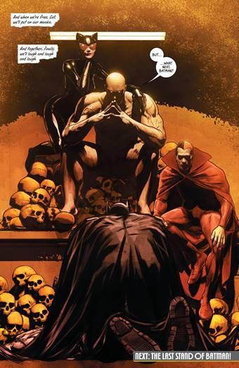 Bane vs Batman en 'Yo soy Suicida' por Mikel Janin