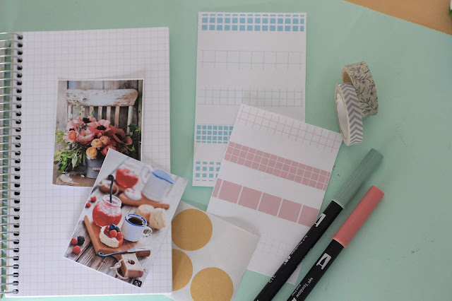 Descargables: tiras de washi tape para decorar tu bullet journal