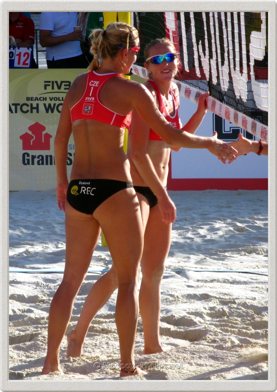 Marketa Slukova & Kristyna Kolocova After The Game