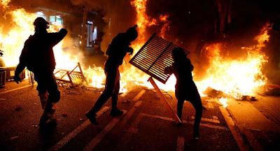 protestos-na-Catalunha