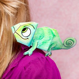 Pascal 3D (Rapunzel) para Imprimir Gratis.