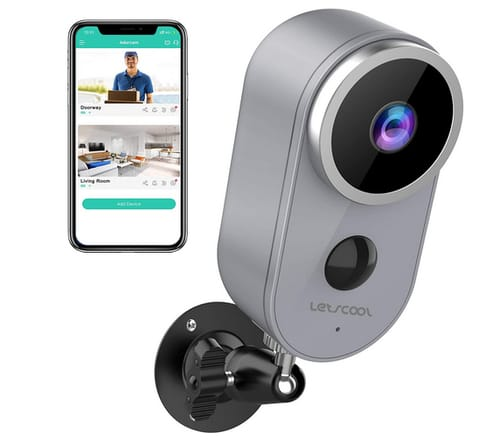 Letscool A4 Wireless Camera for Home Security