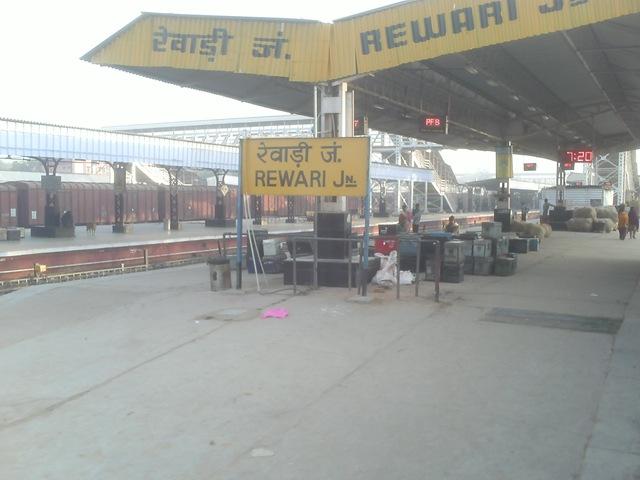 रेवाडी- फुलेरा पैसेंजर ट्रेन यात्रा