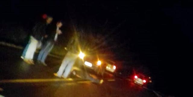 Grave acidente próximo ao Santo Antônio, em Roncador
