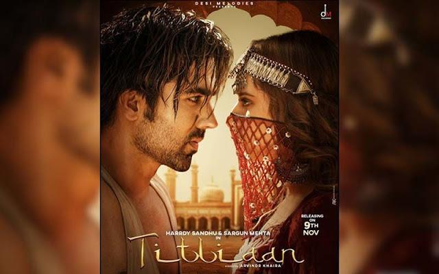 "Titliaan Lyrics in HINDI English - Afsana Khan | Harrdy Sandhu, Sargun Mehta Latest Punjabi song  ""Titliaan"". Harrdy Sandhu & Sargun Mehta lyrics"