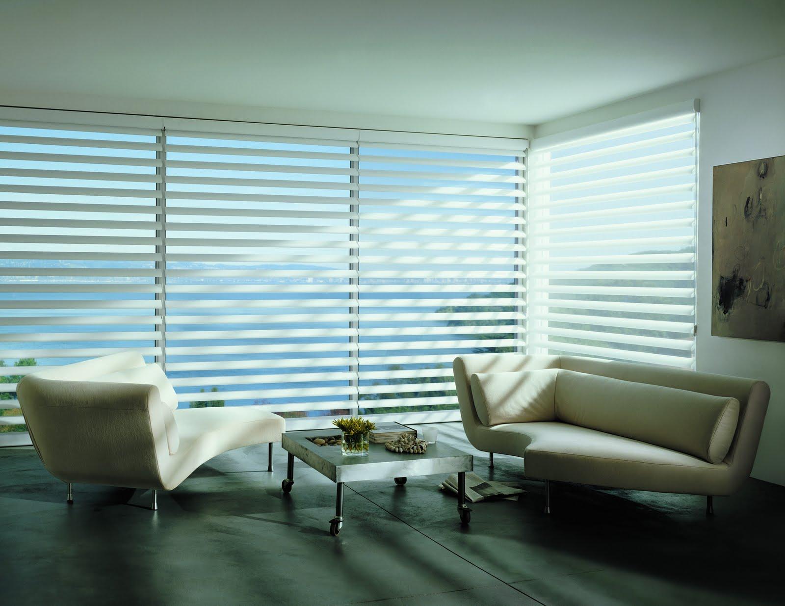 Elegant interior design in contemporary white