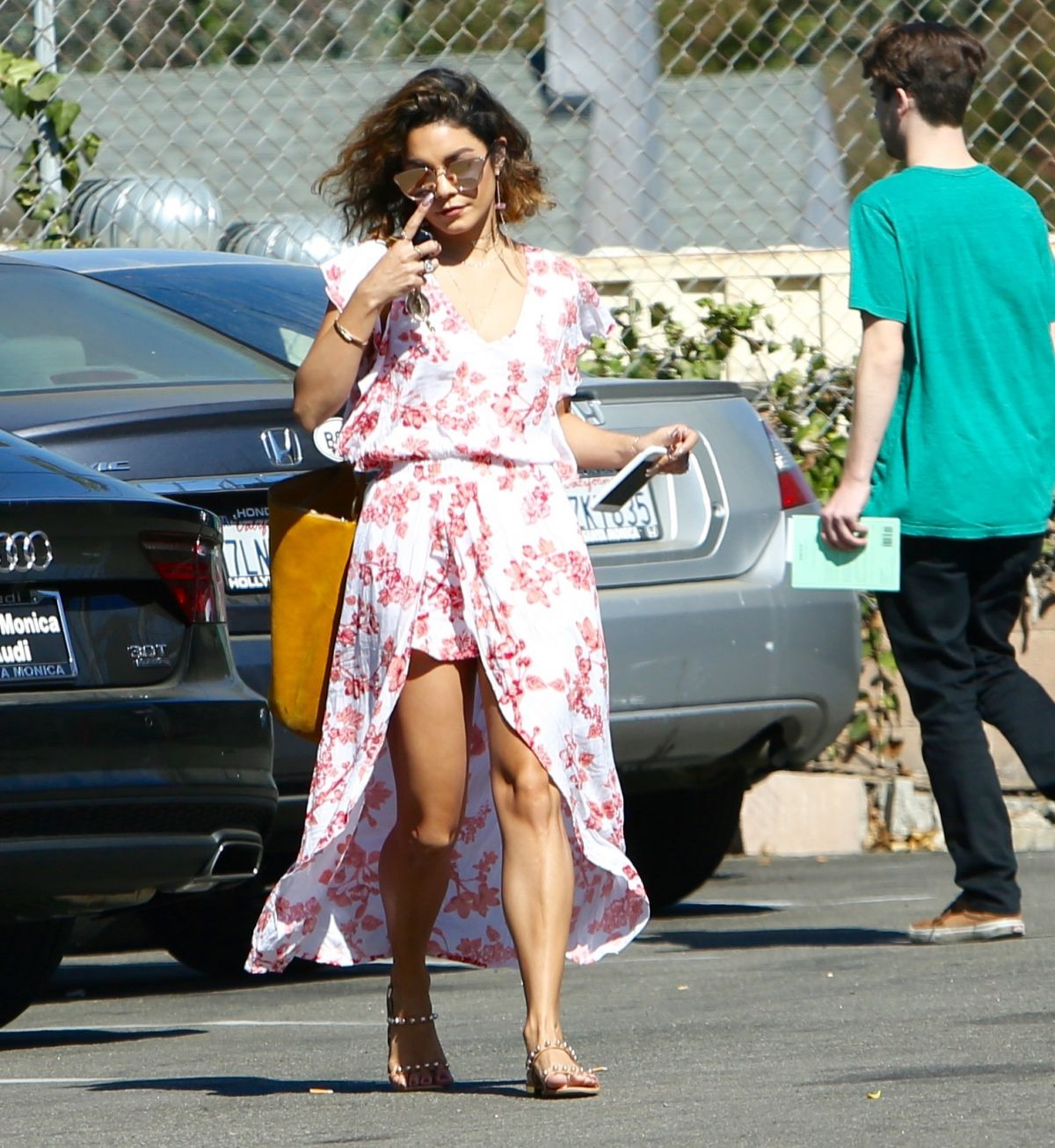 Vanessa Hudgens Out And About In Los Angeles