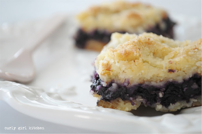 Blueberry Almond Crumb Bars, blueberry bars, shortbread bars, blueberry pie bars, blueberry crumb bars, high altitude baking,