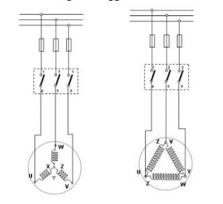 Pengawatan Motor 3 Fasa menggunakan Sakelar TPST