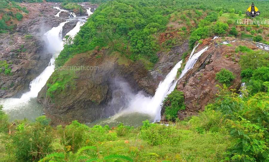 Shivanasamudra falls Mandya