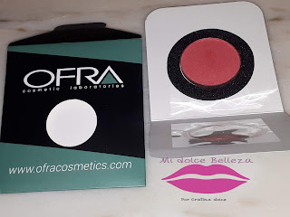 ofra cosmetics blush melon