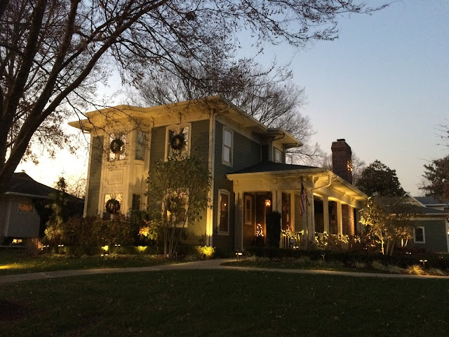 Kirkwood home with Christmas decorations