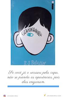 Capa do livro Extraordinário