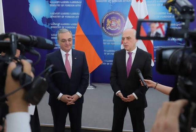 Reunión de cancilleres de Armenia y Georgia
