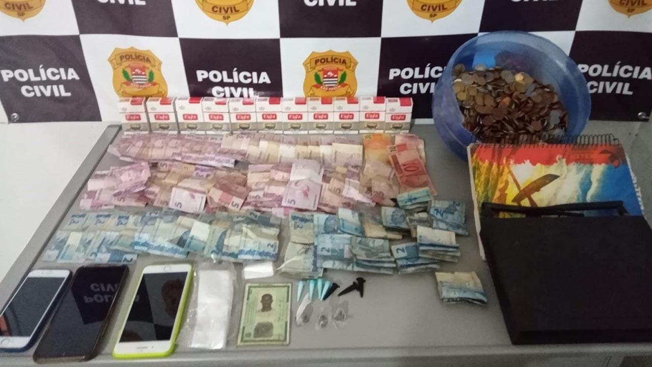 Homem é preso por tráfico de drogas e descaminho em São Manuel